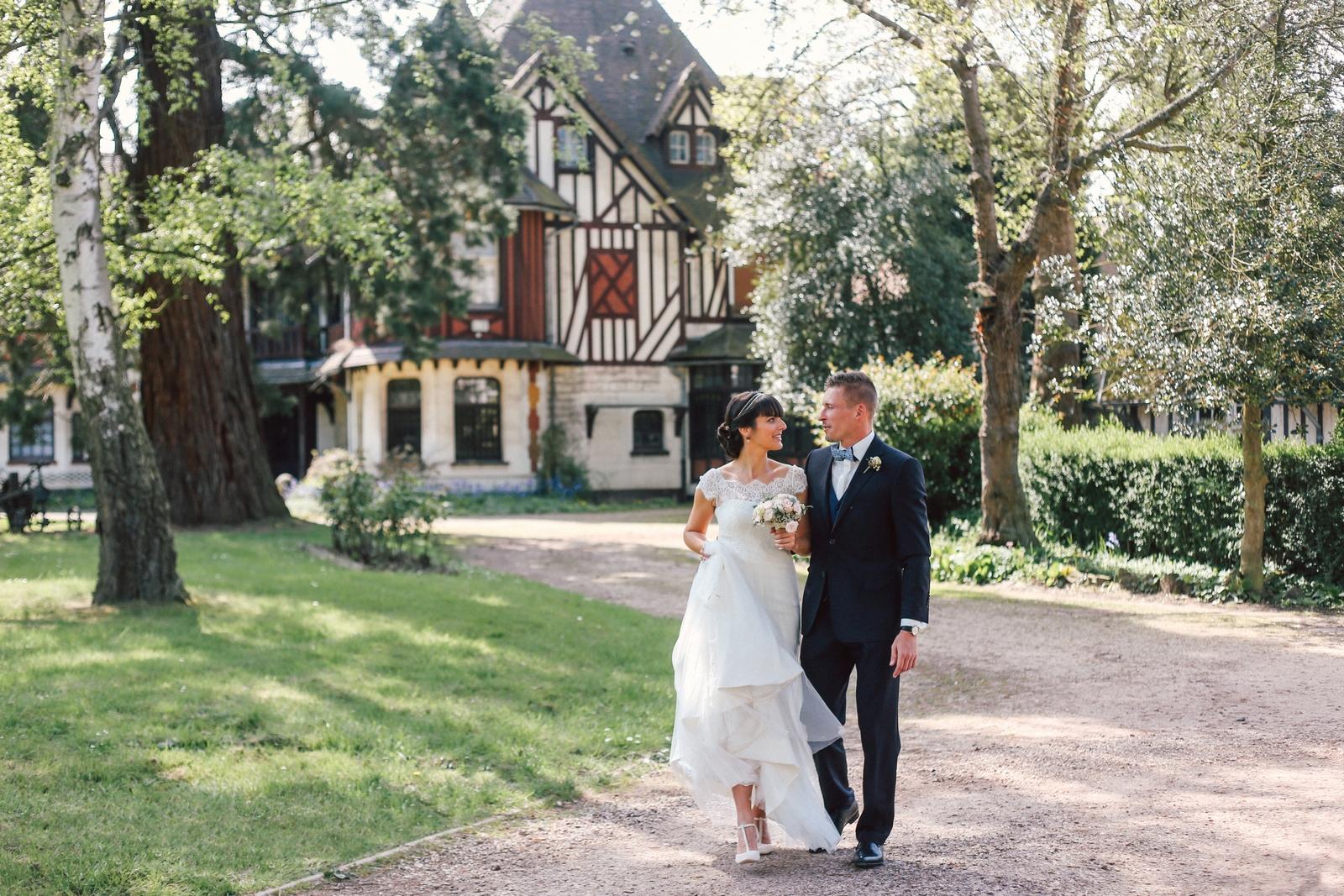 Le joli jour d'Aline et Alexandre au Château de Prémesques
