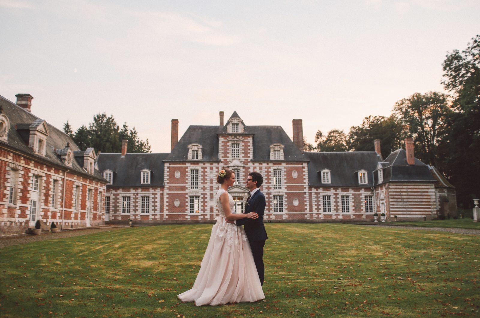 Un mariage franco-américain au Château de Vauchelles