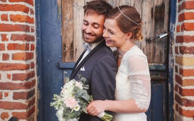 Un mariage rétro et geek au Clos du Colombier