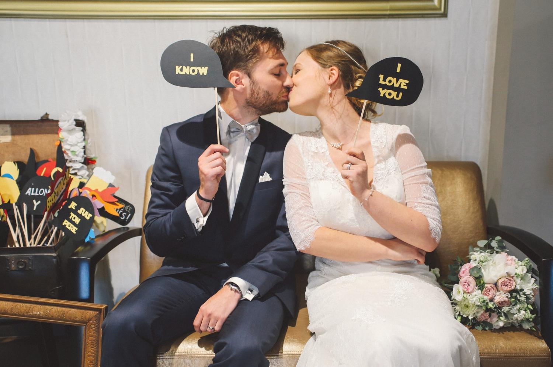 idée mariage décalé geek chic
