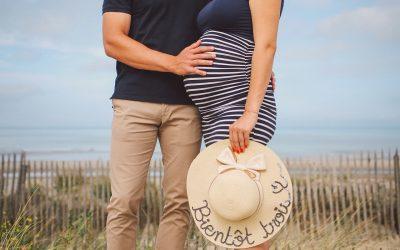 Séance grossesse en Baie de Somme