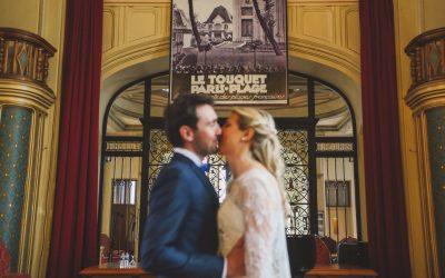Un mariage rétro chic à la Villa Haec Otia au Touquet