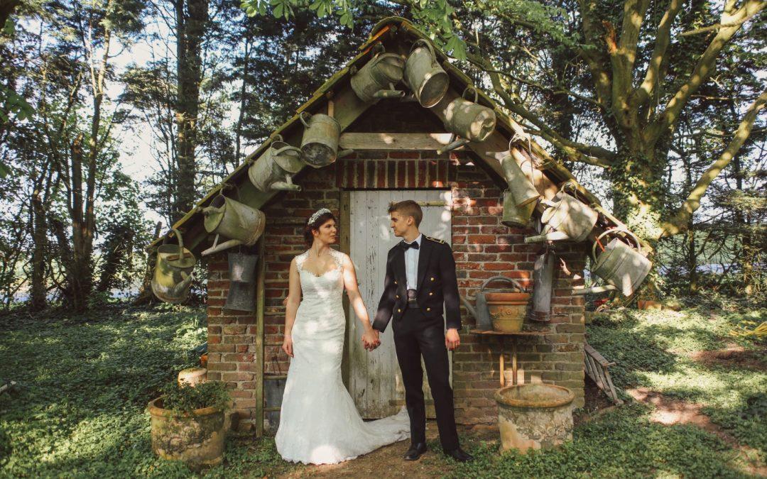 Un joli mariage printanier à la Ferme des Oiseaux