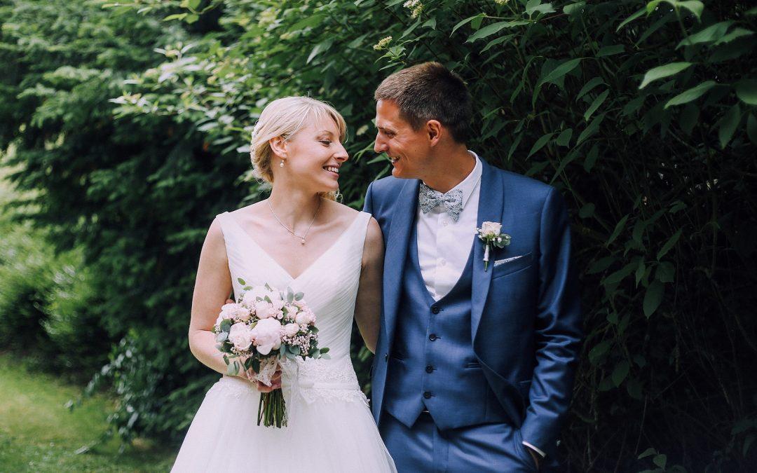 Un mariage romantique au Colombier de Wicres