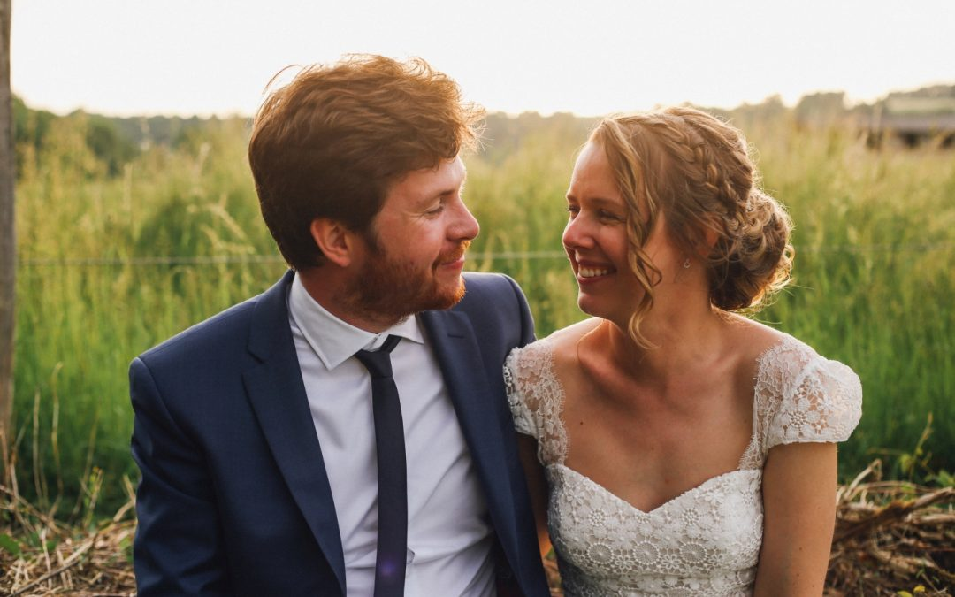 Un mariage champêtre et coloré à l'Etable de Véronges