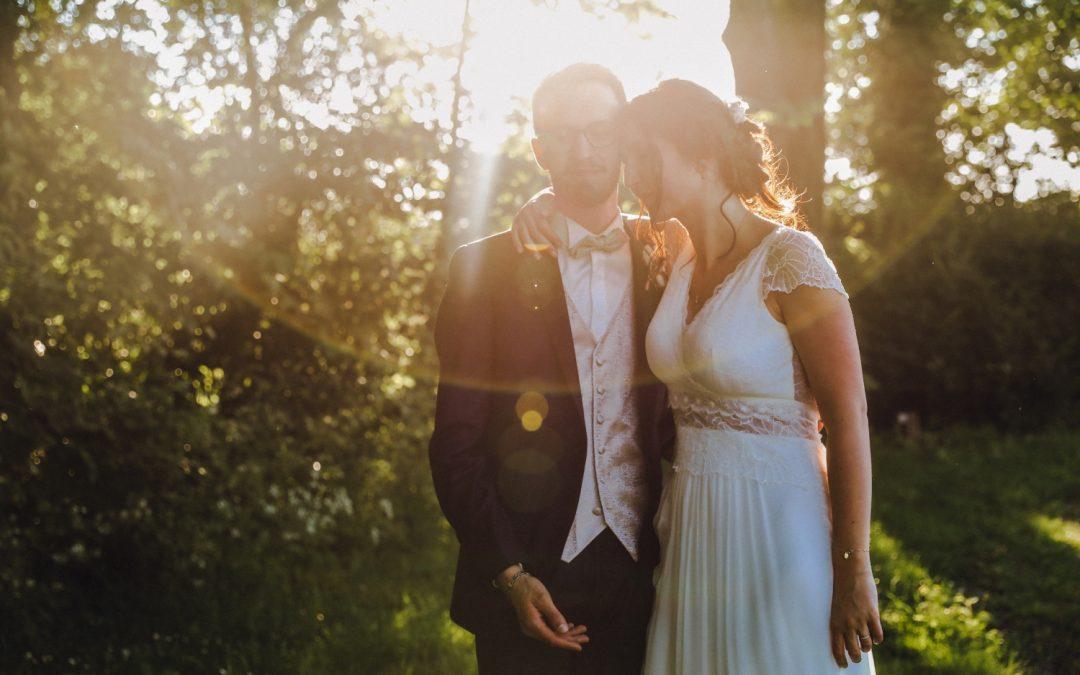 Un mariage champêtre à la Bergerie de Marquillies