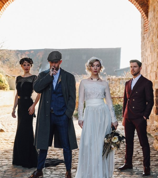 Mariage Inspiration Rétro-Peaky Blinders