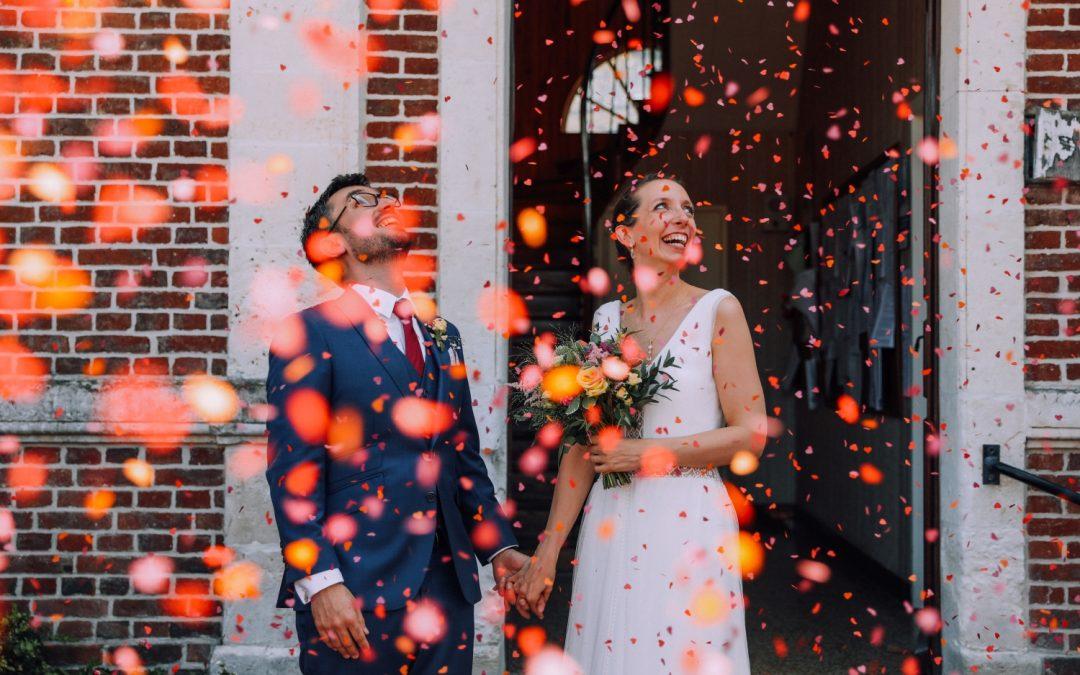 Un mariage coloré à la Ferme des Oiseaux