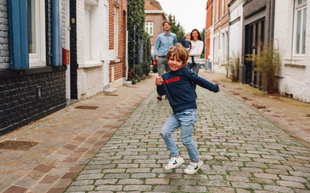 Une joyeuse séance Famille à Lille
