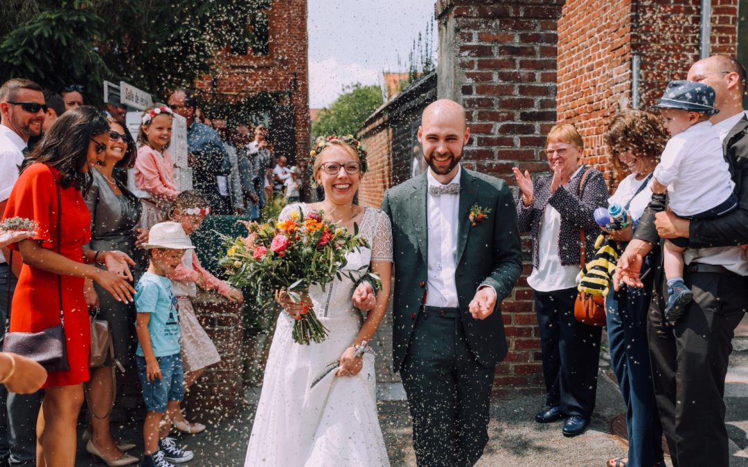 Un mariage champêtre et délicat au Manoir des Burets