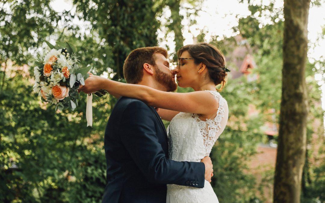 Le mariage de Mathilde et Baptiste à la Ferme des Templiers