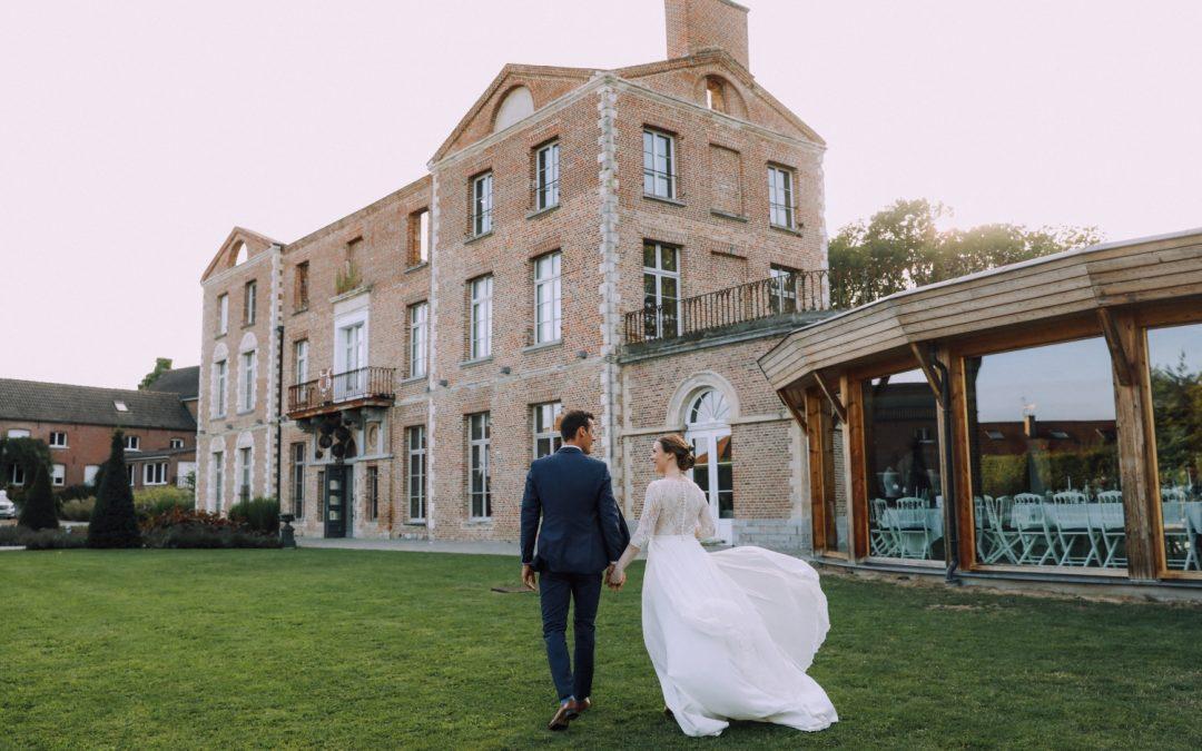 Le joli mariage de Pauline et Matthieu au Château de Morbecque