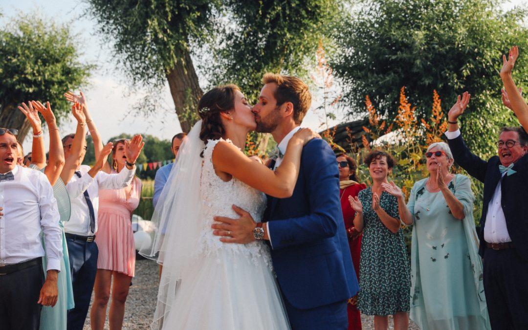 Un joli mariage champêtre au Moulin des Ecrevisses