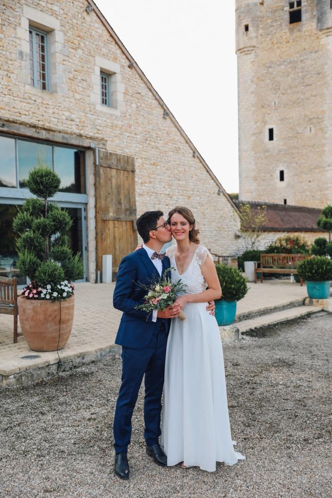 mariage chateau de mazières